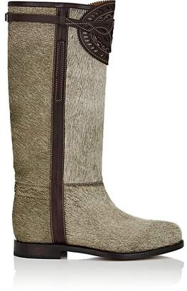 Cartujano Espana Women's Leather-Trimmed Fur Knee Boots