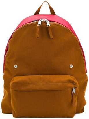 Raf Simons colour block backpack