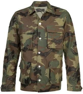 Amiri multi-pocket camouflage jacket