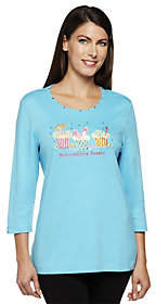 "Factory Quacker Summertime Sweets"" 3/4 SleeveT-shirt"