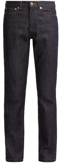 Droit high-rise straight-leg jeans