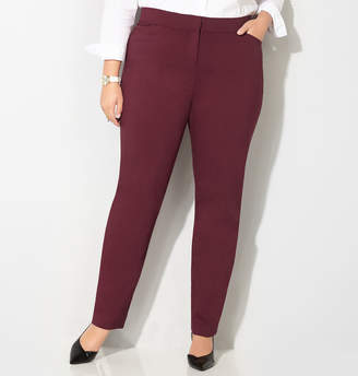 Avenue Super Stretch Slim Leg Trouser with Comfort Waist