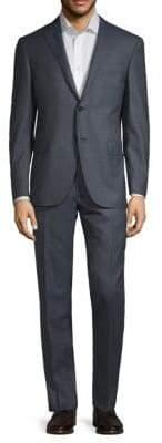 Corneliani Two-Piece Solid Sharkskin Suit