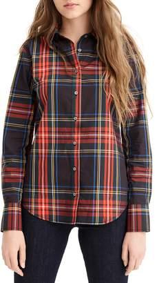 J.Crew Stewart Tartan Perfect Slim Stretch Shirt