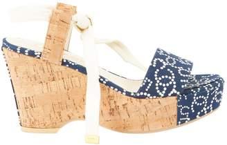 Chanel Cloth sandal