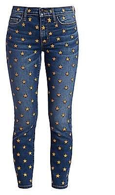 Current/Elliott Women's The Stiletto Star Ankle Skinny Jeans