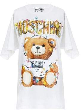 Moschino Oversize Holiday Teddy Tee