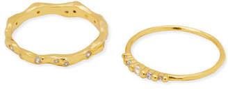 Gorjana Collette Cubic Zirconia Rings, Set of 2