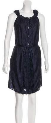 Zac Posen Silk Sleeveless Mini Dress