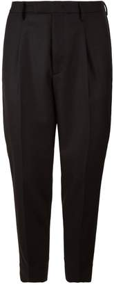 Moncler Tapered Wool Trousers