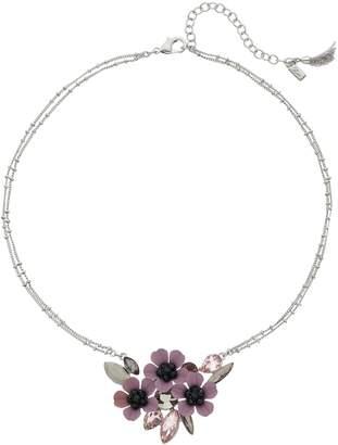Vera Wang Simply Vera Purple Flower Necklace