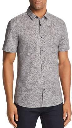 HUGO Empson Confetti Extra Slim Fit Button-Down Shirt