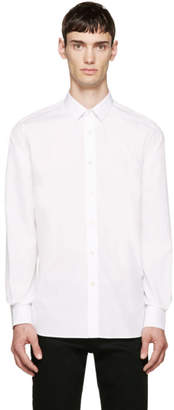 Saint Laurent White Classic Poplin Shirt