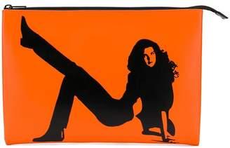 Calvin Klein Jeans Est. 1978 Icon clutch bag