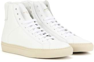 Givenchy Urban Knots high-top leather sneakers
