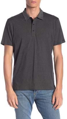 Rag & Bone Stripe Cotton Polo Shirt