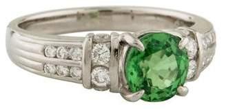Ring Tsavorite & Diamond
