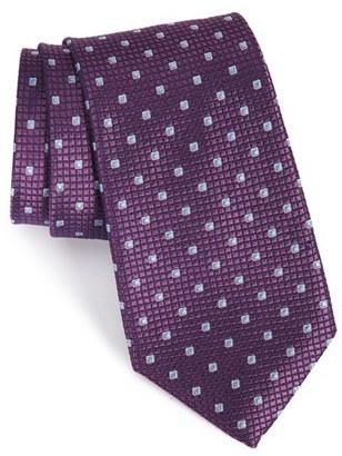 Men's Calibrate Geometric Silk Tie $49.50 thestylecure.com