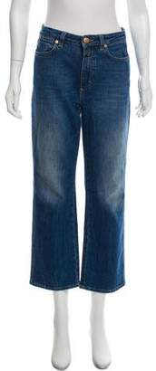 Closed Cropped High-Rise Jeans