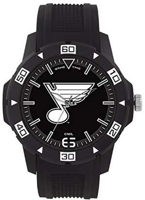 Game Time Men's 'Automatic' Quartz Plastic Casual Watch