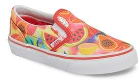 Vans Classic Glitter Fruit Slip-On Sneaker