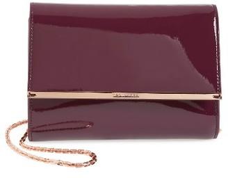 Ted Baker London Kerstin Patent Leather Crossbody Bag - Purple $165 thestylecure.com