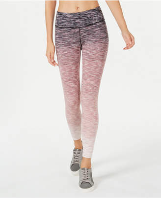 Ideology Space-Dyed Ombre Ankle Leggings