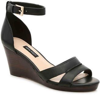 Nine West Jabrina Wedge Sandal - Women's