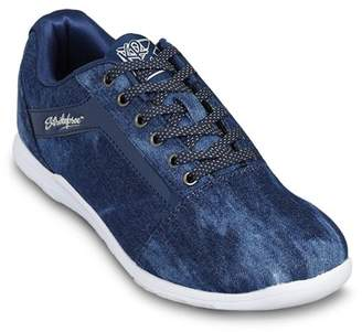 KR Strikeforce Bowling Shoes KR Strikeforce Womens Nova Lite Bowling Shoes- Denim Sparkle 6 1/2