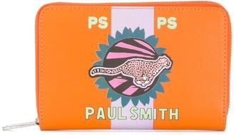 Paul Smith Cheetah print wallet
