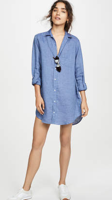 Frank And Eileen Mary Long Sleeve Button Down Dress