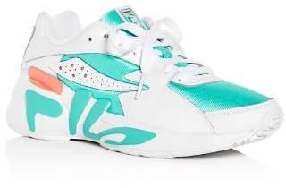 Fila Women's Mindblower Color-Block Low-Top Platform Sneakers