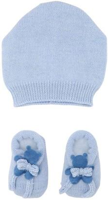 La Perla Bears Wool Knit Hat & Socks Set