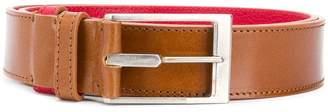 Maison Margiela smooth buckle belt