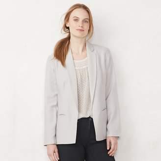 2704d61c8d Lauren Conrad Women s Relaxed Open-Front Blazer