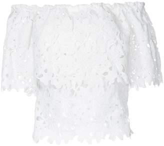 Bambah lace off shoulder top