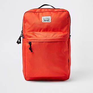 Levi's orange backpack