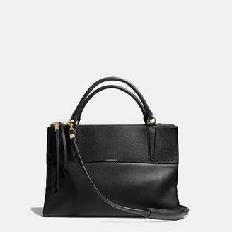 COACH Coach The Borough Bag In Pebbled Leather $598 thestylecure.com