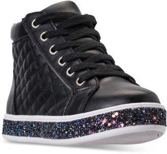 Steve Madden (スティーブ マデン) - Steve Madden Little Girls' JCaffire Mid-Cut Casual Sneakers from Finish Line