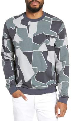 Fred Perry Camoflage Sweatshirt