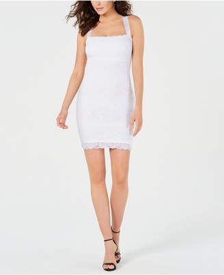 GUESS Juniors' Fitted Lace Dress