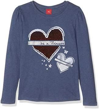 S'Oliver Girl's 53.708.31.7127 Longsleeve T-Shirt,18-24 Months