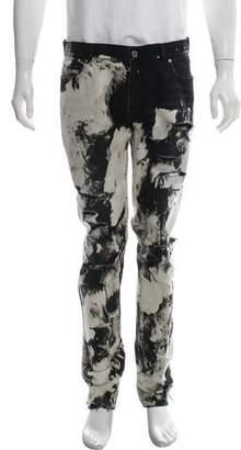 Saint Laurent D02 Bleached Skinny Jeans