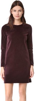 Theory Wynter Velvet Dress $375 thestylecure.com