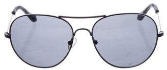 The Row Tinted Aviator Sunglasses