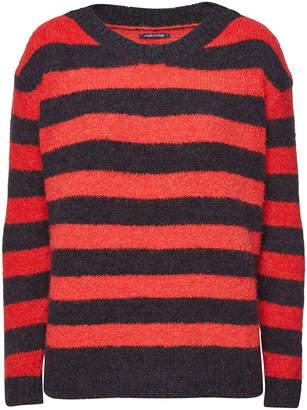 Woolrich Striped Alpaca Pullover