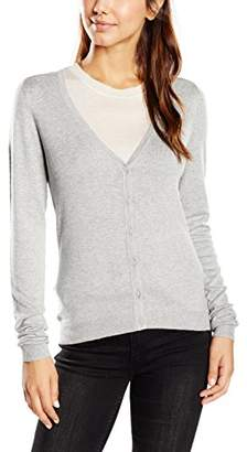 Vero Moda Women's Long Sleeve Cardigan - Grey
