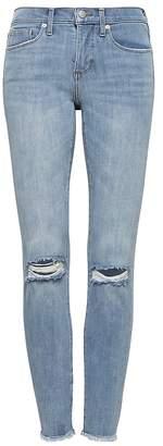 Banana Republic Petite Skinny Zero Gravity Light Wash Ankle Jean