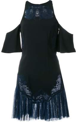 Jonathan Simkhai embroidered cold-shoulder dress