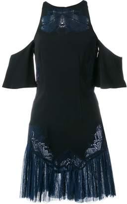 Jonathan Simkhai embroidered cold-shoulder dress